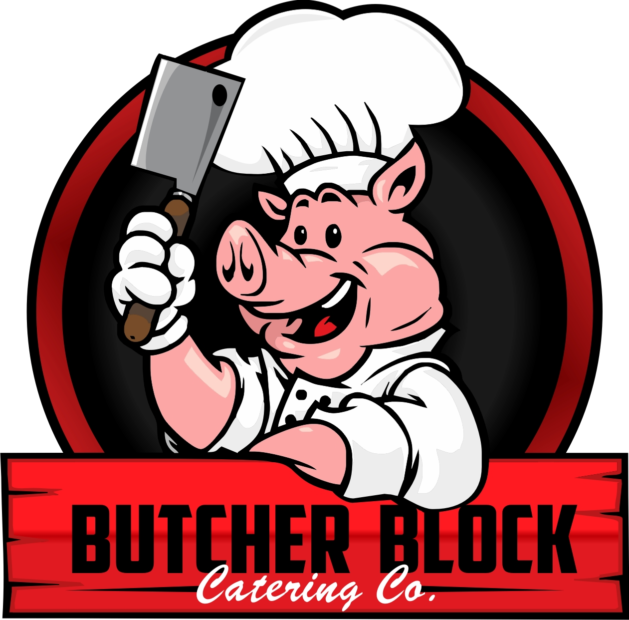 Butcher Block Catering Logo